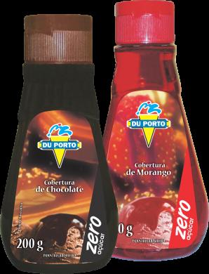 Cobertura de Morango Zero Açúcar Du Porto 265g