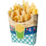 Caixa Batata Frita Festa Junina 08 Unidades Festcolor