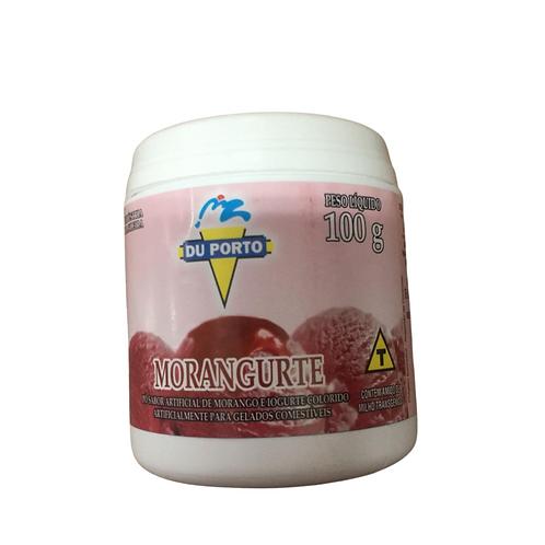 Morangurte - Pó artificial de morango om yogurte para gelados Du Porto 100g