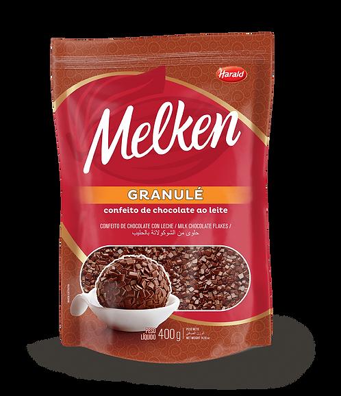 Granulé de Chocolate Ao Leite Melken 400 g