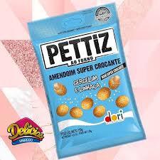 Amendoim Pettiz Gergelim com Linhaça  Super Crocante 70g Dori