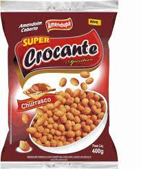 Amendoim Crocante Churrasco 400g Amendupã