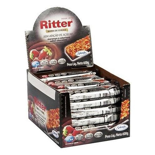 Cereal Ritter Zero Açúcar Morango/Chocolate com 24un