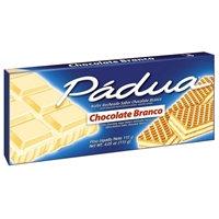 Wafer Padua Chocolate Branco 115g Parati