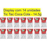Tic Tac coca cola  display c/14 Creimpol