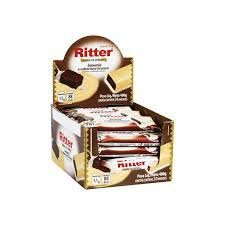 Cereal Brownie Chocolate Branco 24un. Ritter