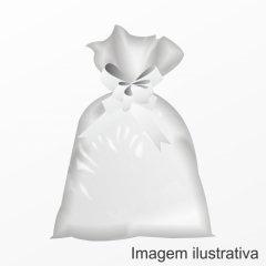 Saco Poli Liso 30 cm x 45 cm 50 pc Incolor Albano