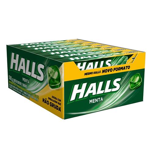 Halls Menta 588g Display com 21 un