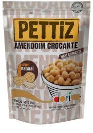 Amendoim Pettiz Natural Pouch Dori 180g