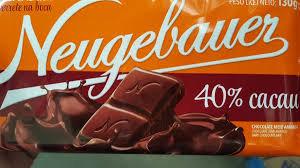 Barra de Chocolate 40% Cacau 14x90g Neugebauer