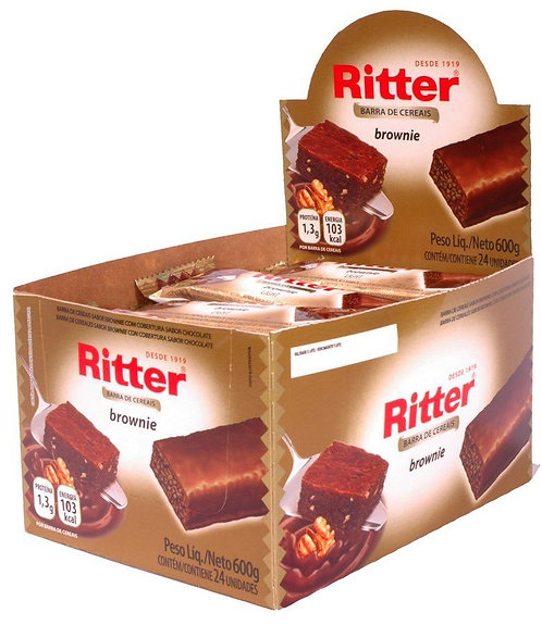 Cereal Ritter Brownie c/ 24 un
