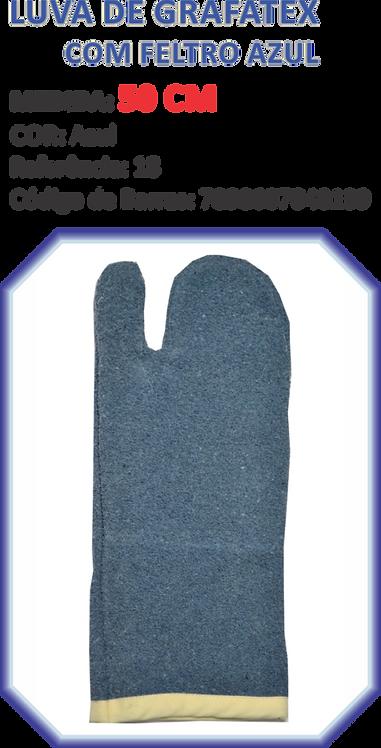 Luva Grafatex Azul 50 cm Starpan