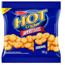 Biscoito Hot Cracker Aperitivo Original 30g Parati