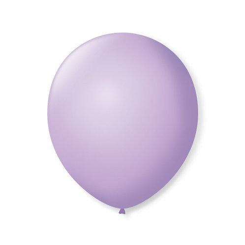 Balão  N°9 Lilás Baby  - Pacote Com 50un - Balões São Roque