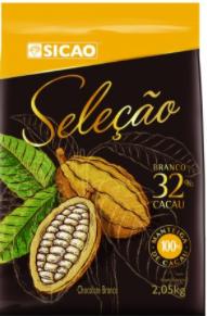 Chocolate Sicao Seleção Branco 32% Cacau 2,05kg