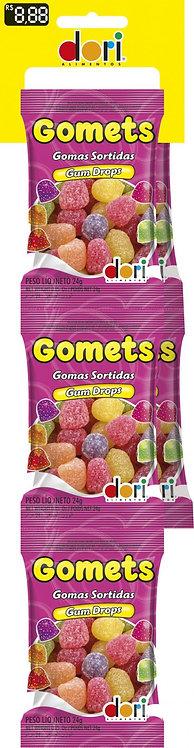 Cartela Gomets Goma Sino 5 unid. de 24g - Dori