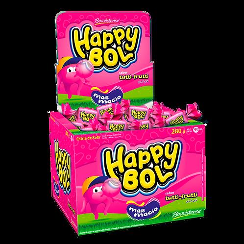 Chiclé  Happy Bol  Tutti-Fruti  140g - Boavistense
