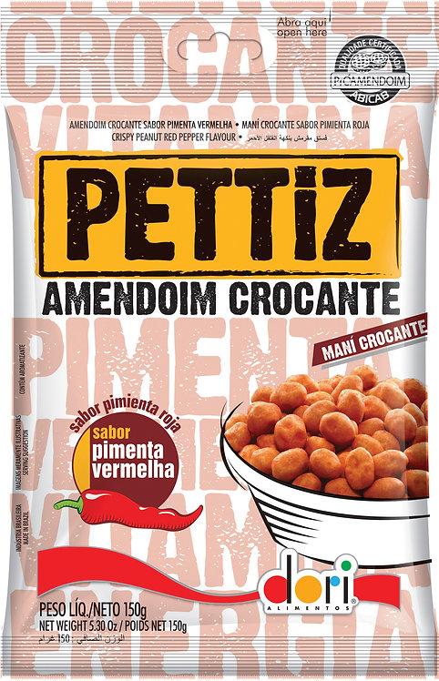 Amendoim Pettiz Pimenta Vermelha Crocante 150g Dori