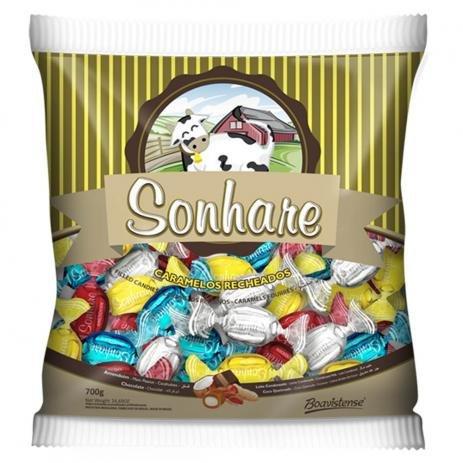 Bala Sonhare Sortida 600g Florestal - Na compra de 2 pague R$ 6.99 cada.