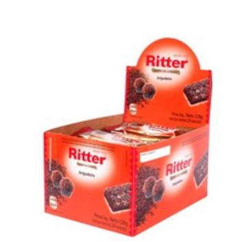 Cereal em Barra Sabor Brigadeiro C/ 24 un - Ritter