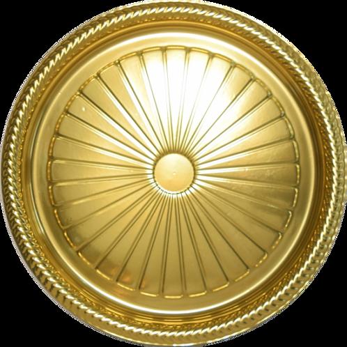 Bandeja B60 Dourada - 33 X 1,5 -  Neoform