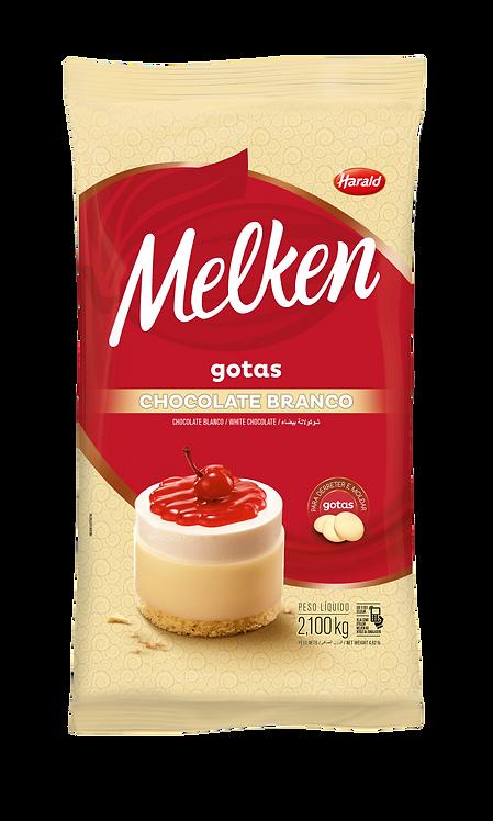 Chocolate em gotas Branco Melken Harald 2,100kg