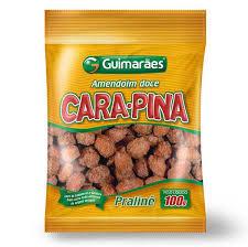 Amendoim Doce Cara-Pina Praline 120g Guimarães