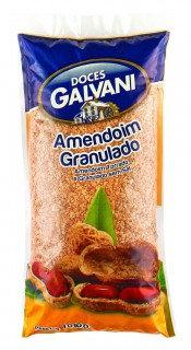 Amendoim Granulado, Torrado e sem Sal Galvani 1Kg