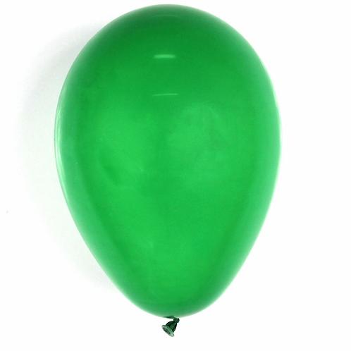 Balão  N°7  Verde Bandeira- Pacote com 50un - Balões São Roque