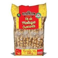 Pé de Moleque Crocante 140g - DaColônia