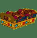 Bandeja Retangular Festa Junina com 8un Festcolor