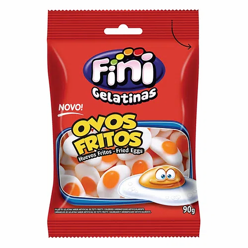 Bala Ovos  Fritos 90g- Fini
