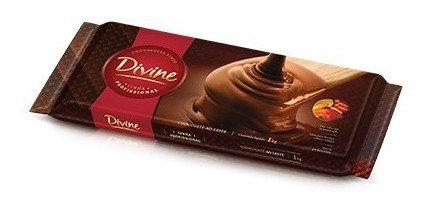 Chocolate Divine Ao Leite 1kg