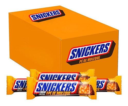 Chocolate Snickers Pé de Moleque com 20un de 42g