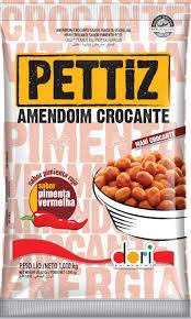 Amendoim Pettiz Pimenta Vermelha Crocante Dori 1,010kg
