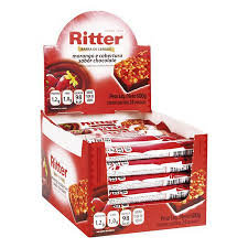 Barra de Cereal Morango/Chocolate  24 un. c/ 25g Ritter