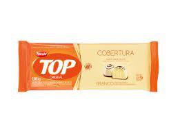 Cobertura Fracionada sabor Chocolate Branco Top Harald 2,1kg em barra