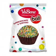 Cereal Micro Ball Colorido 500g VaBene