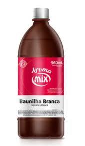 Aroma Artificial  Baunilha Branca 960ml Mix