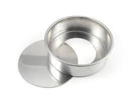 Forma Redonda Fundo Falso 10x5cm - Alumínio Caparroz