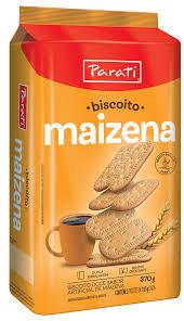 Biscoito Maizena 370g Parati