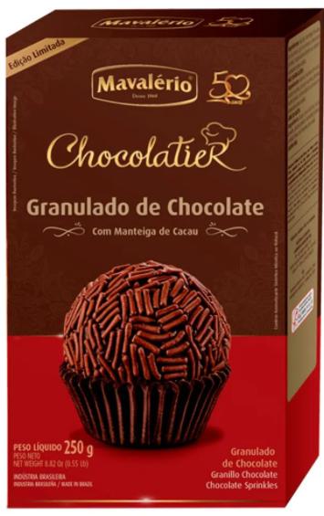 Granulado Nobre de Chocolate 250g - Mavalério