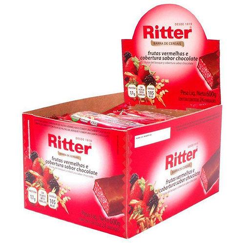 Cereal Ritter Frutas Vermelhas com 24un