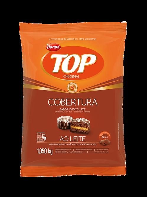 Cobertura Fracionada em gotas Top Harald Chocolate Ao Leite 1,050 kg