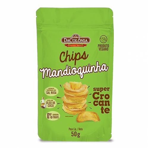 Chips de Mandioquinha 50G Da Colônia