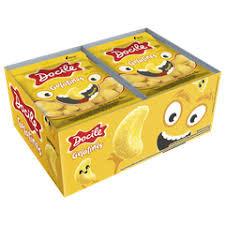 Bala Gelatina Mini Banana 12pctx15g Docile
