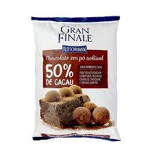 Chocolate em Pó Soluvel 50% Cacau 1KG GFN Fleischemann