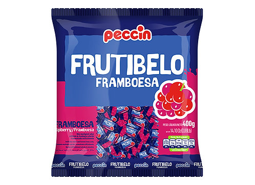 Bala Frutibelo Framboesa 400g Peccin