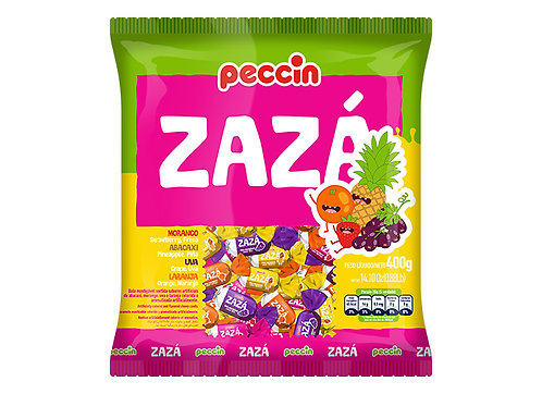 Bala Zazá Sortida 400g Peccin
