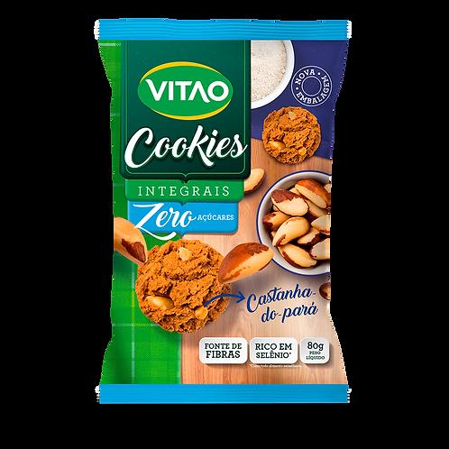 Cookies Zero Integral Castanha do Pará - 80g Vitao